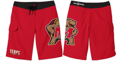 *PRE-ORDER* University of Maryland Red / Board Shorts