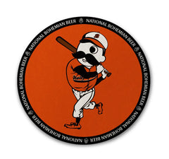 Natty Boh Baseball Batter / Cork Coaster