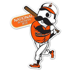 Natty Boh Baseball Batter / Sticker