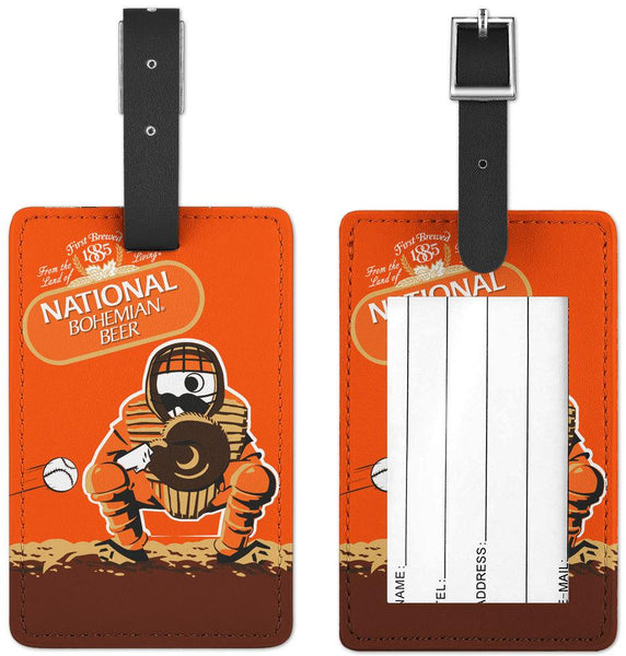 Natty Boh Baseball / Luggage Tag