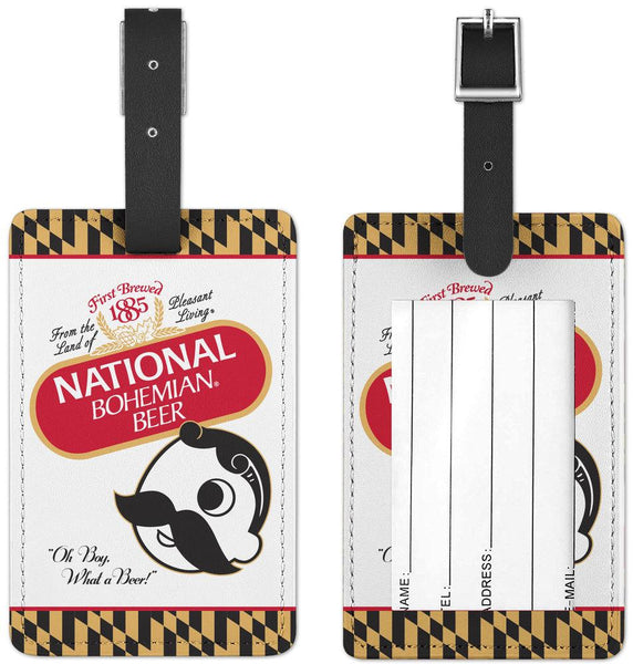 Natty Boh Calvert Can / Luggage Tag