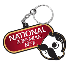 National Bohemian Beer / Key Chain