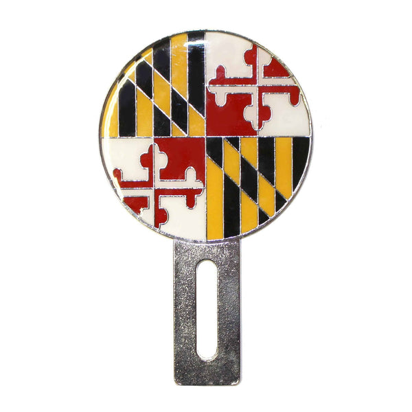 Maryland Flag / License Plate Topper