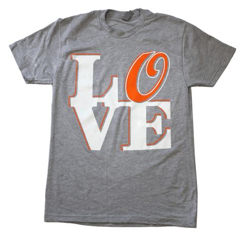 Baltimore LOVE (Light Grey) / Shirt - Route One Apparel