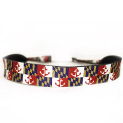 Maryland Nautical Flag / Neoprene Sunglass Strap