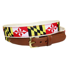 Maryland Flag / Belt