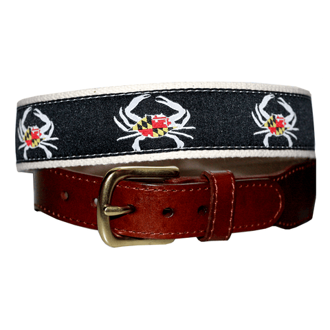 Maryland Flag Crab (Black) / Belt