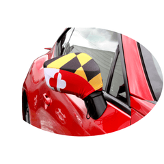 Maryland Flag / Car Mirror Sock