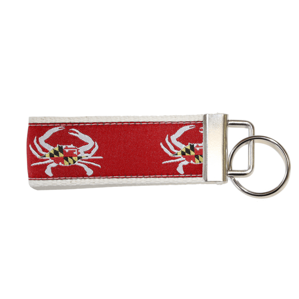 Maryland Flag Crab (Red) / Key Chain