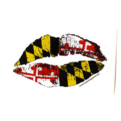 Maryland Kiss  / Sticker