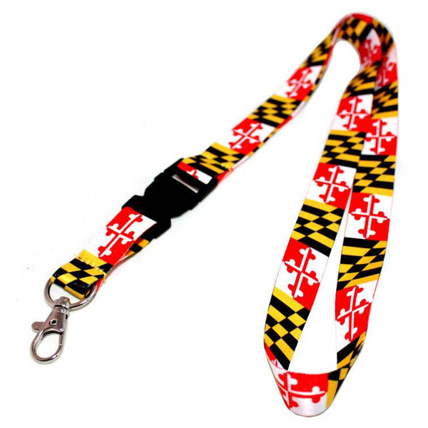 Maryland Flag / Lanyard