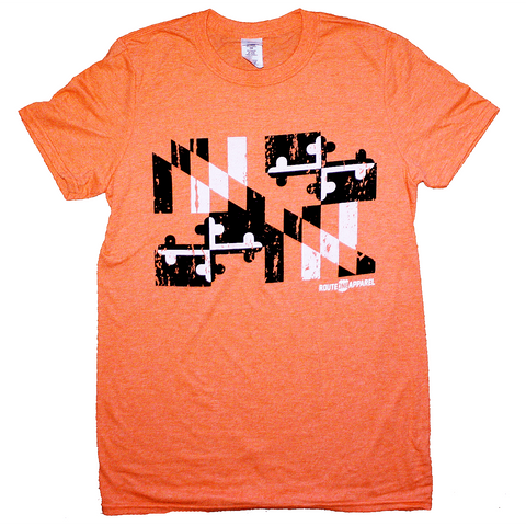 Baltimore Black & Orange Maryland Flag (Orange) / Shirt