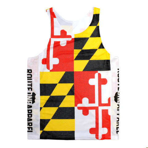 Maryland Flag / Lacrosse Pinnie