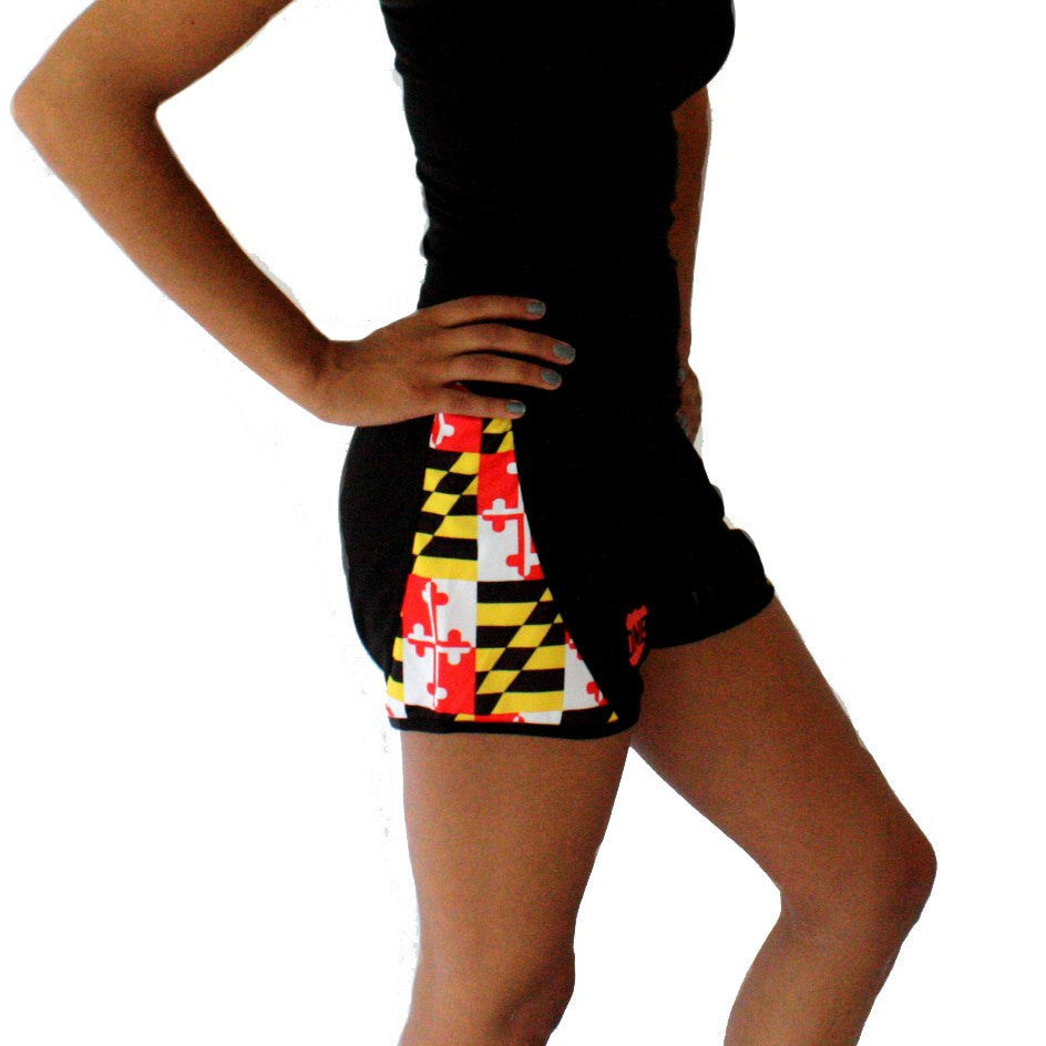 Maryland Flag / Running Shorts (Women)