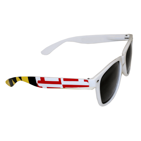 White Maryland Flag / Shades
