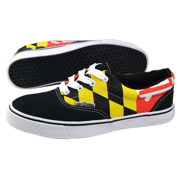 Maryland Flag (Black) / Shoes