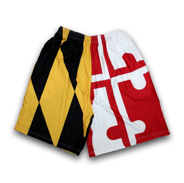 Maryland Flag / Athletic Shorts