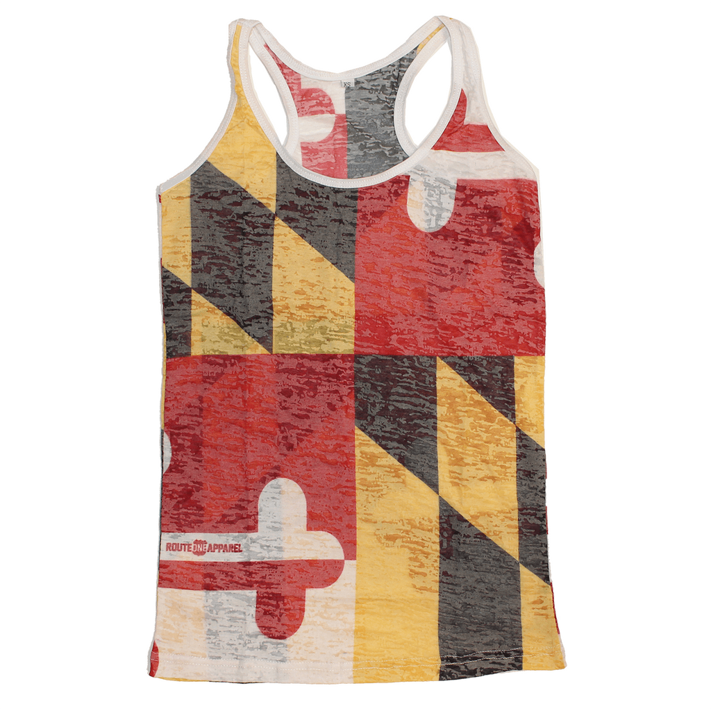 Maryland Flag Burnout *Vintage* / Tank