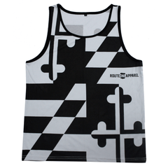 Greyscale Maryland Flag / Tank