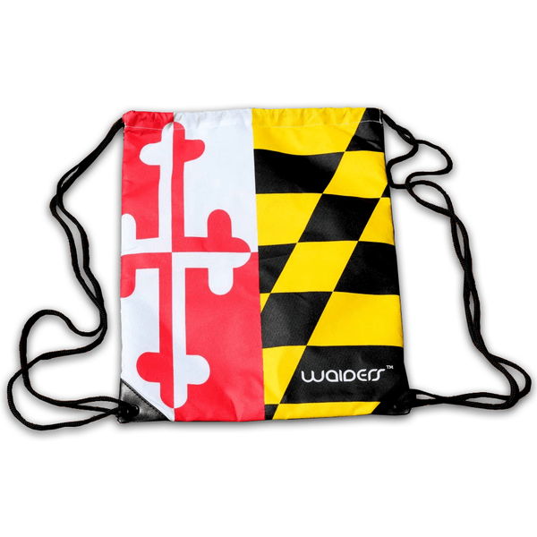 Maryland Flag Tailgater / Drawstring Bag