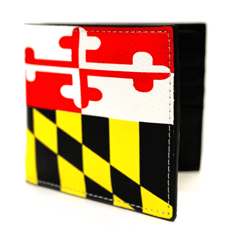 Maryland Flag (Outside) / Wallet