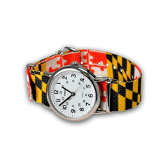 Maryland Flag / Watch Strap