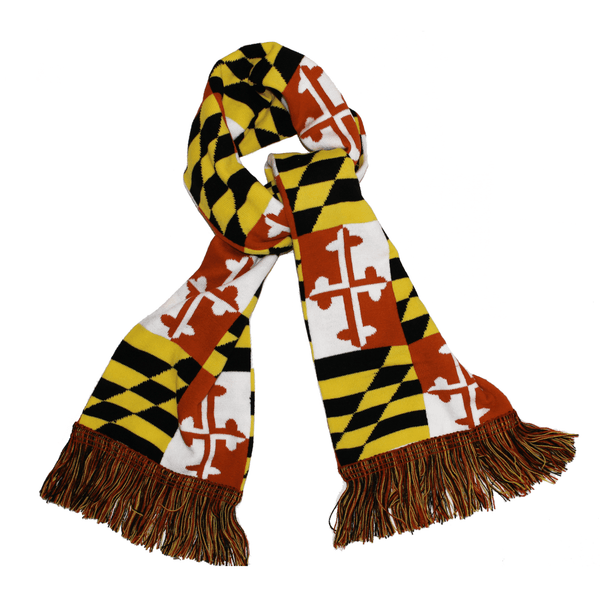 Maryland Flag / Winter Scarf