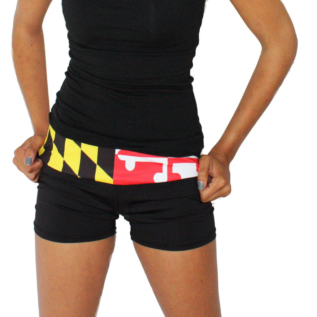 Maryland Flag / Stretch Shorts