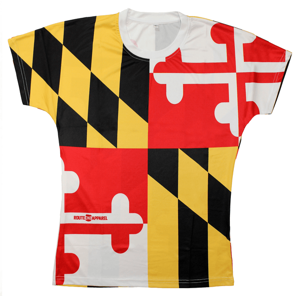 Maryland Flag Wicking *Vintage* / Shirt