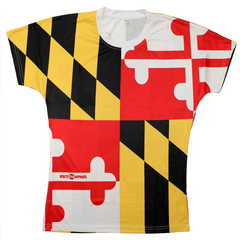 Maryland Flag Wicking / Shirt