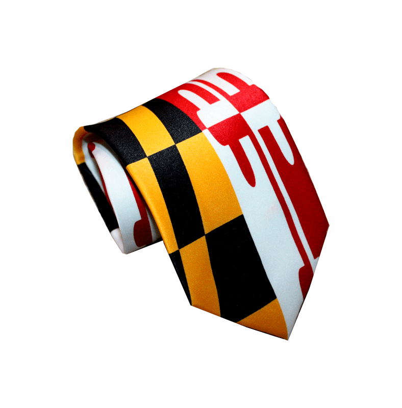 Maryland Flag Stretch / Tie