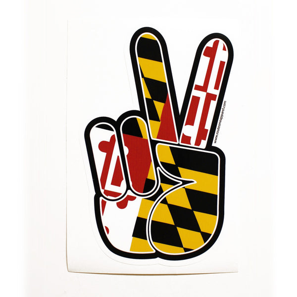 Maryland Peace / Sticker