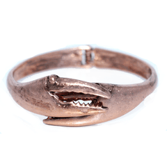 Crab Claw (Matted Rose Gold) / Bangle Bracelet - Route One Apparel
