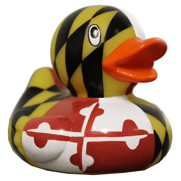 Maryland Full Flag / Rubber Duckie