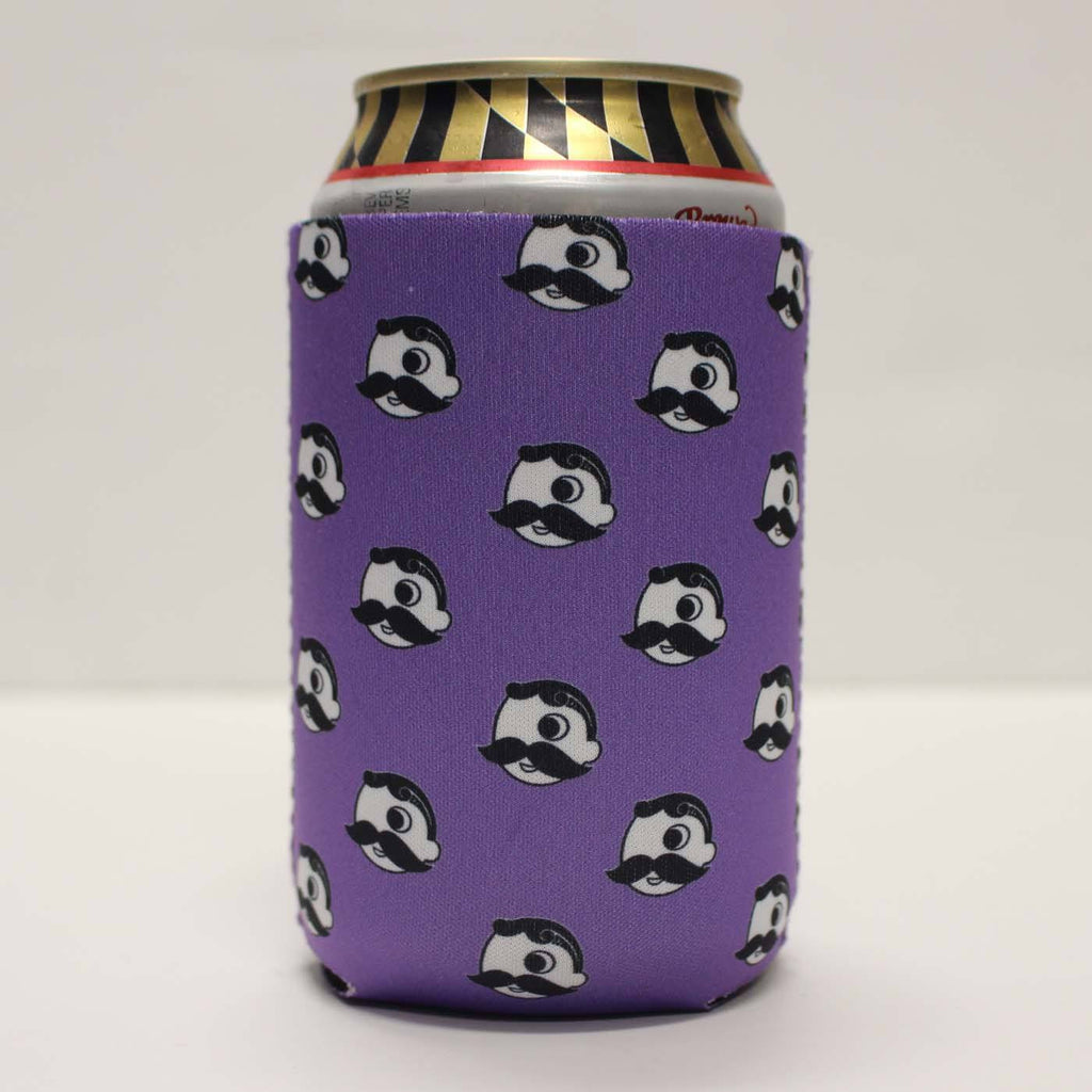Natty Boh Logo Pattern (Purple) / Koozie