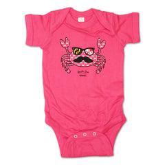 Fun Crab Disguise (Pink) / Baby Onesie