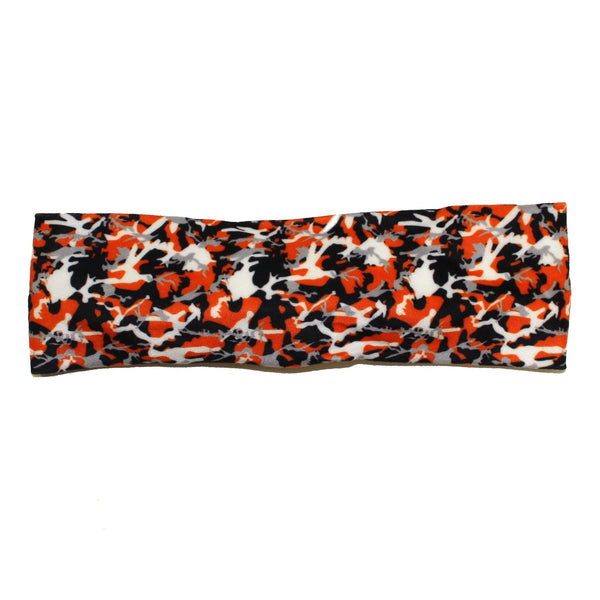 Black & Orange Branch Camo Maryland Flag / Headband