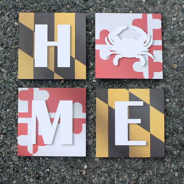 Maryland Home / Mosaic Art Prints