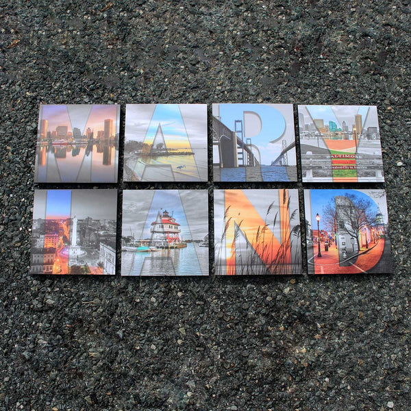 Around Maryland Photo Series / Mosaic Art Prints