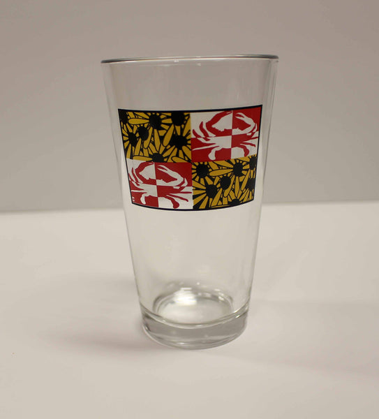 Crabby Susan Maryland / Pint Glass