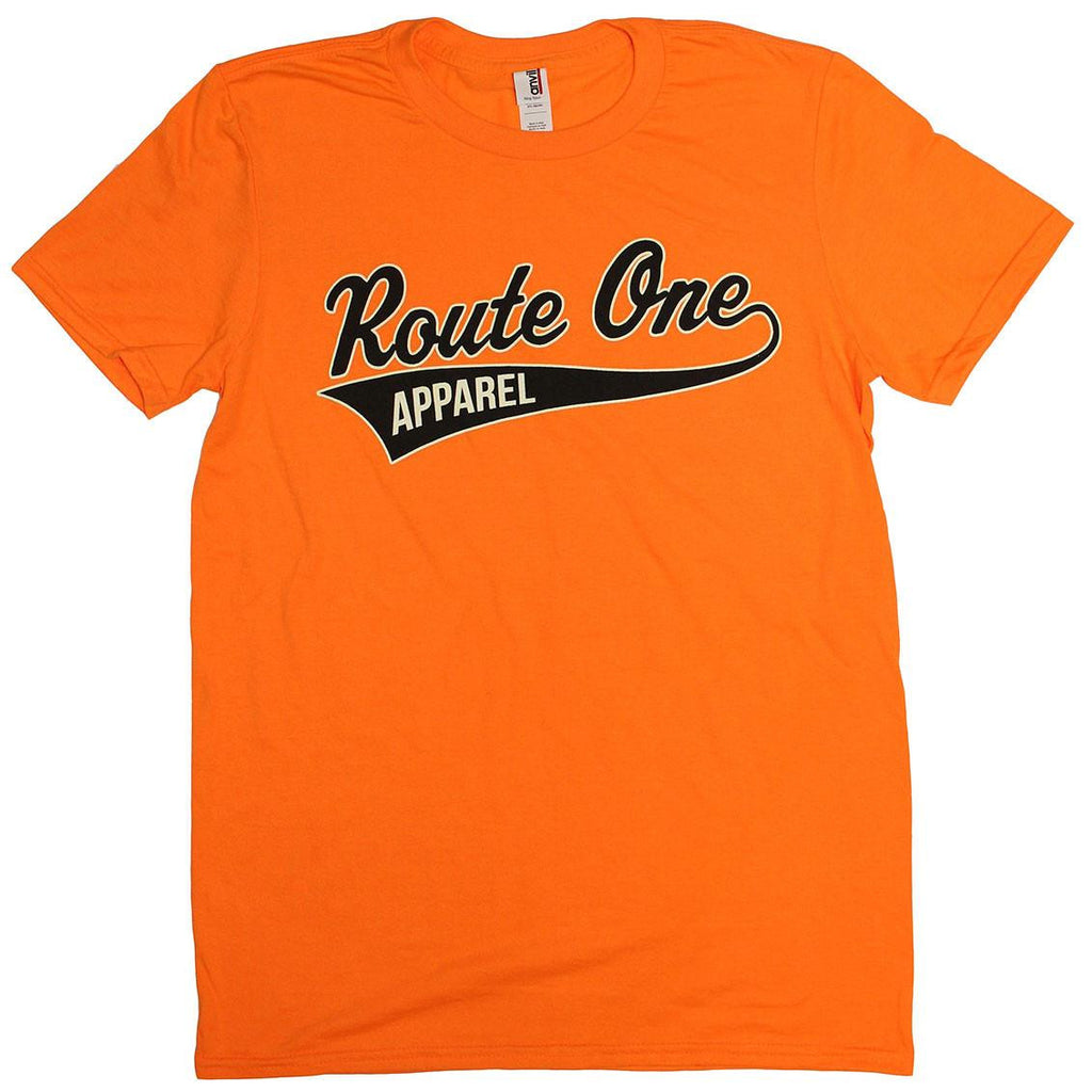 Route One Apparel Baseball Team Spirit (Orange) / Shirt