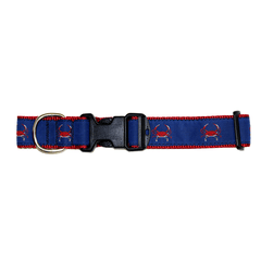 Blue & Red Crab / Dog Collar - Route One Apparel