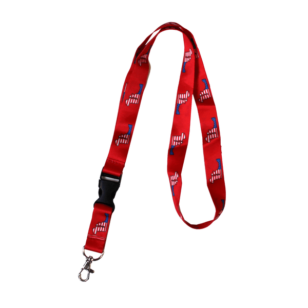 American State of Maryland (Red) / Lanyard - Route One Apparel