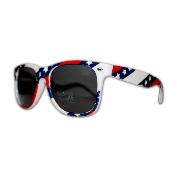 USA Diagonal American Stripes / Sunglasses
