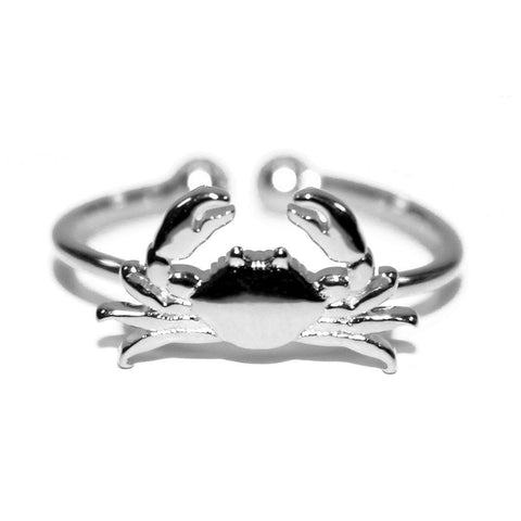 Maryland Blue Crab (Sterling Silver) / Ring