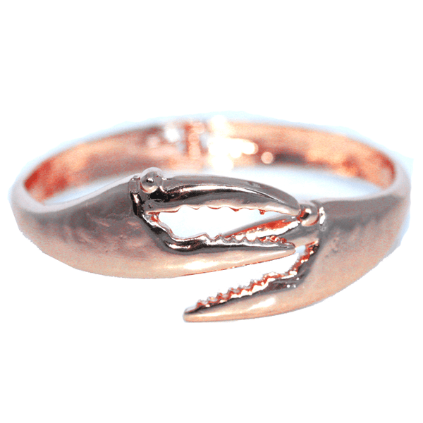 Crab Claw (Rose Gold) / Bangle Bracelet