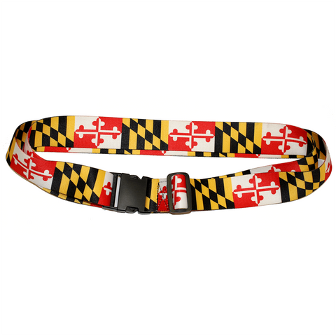 Maryland Flag / Luggage Strap