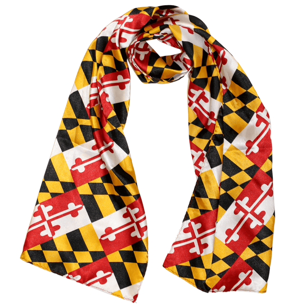Silk Maryland Flag / Scarf