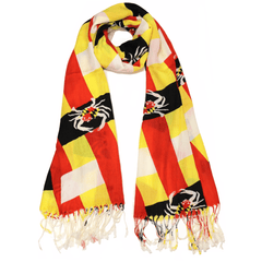 Maryland Crab Woven Pattern / Scarf
