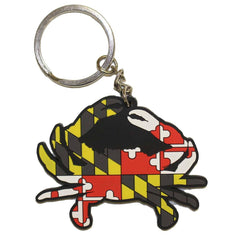 Maryland Full Flag Crab / Key Chain